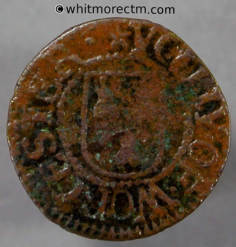 17th Century Token Worcester 137 William Colbatch H / City Arms
