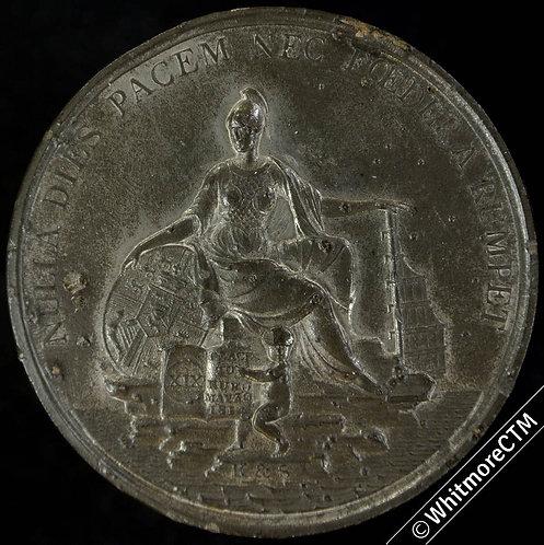 1814 Peace of Paris Medal 49mm B812 Heads of 4 Allied Commanders