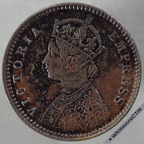 1886C India 1/12th Anna S&W 6.624 obv