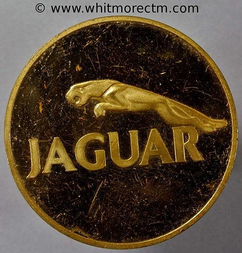 Coventry Jaguar Car Shooting Medal 39mm logo - Rifle Clay pigeon - Gilt bronze