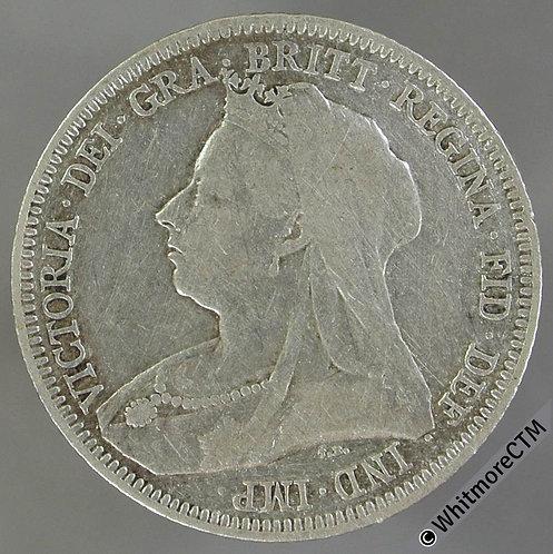 1893 Victoria Jubilee Head Shilling