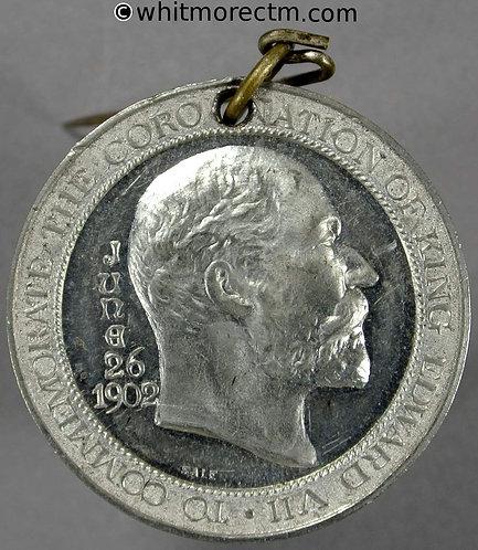 Bath 1902 Coronation Medal Edward VII & Alexandria 32mm B3814 By Sale. W.M