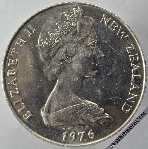 1976 New Zealand Crown obv - 1 Dollar