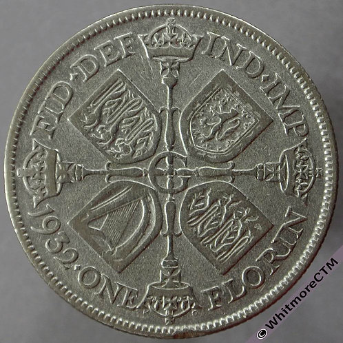 1932 British Florin - George V