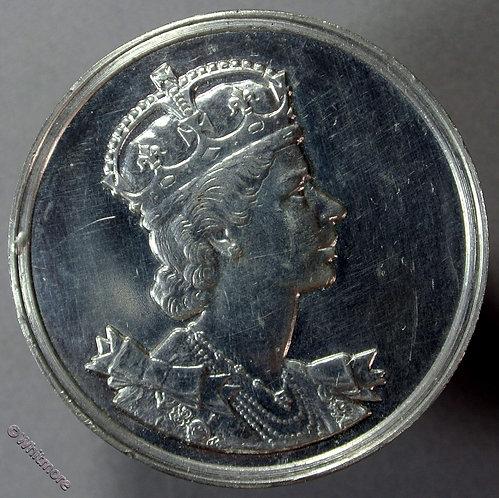 1953 Queen Elizabeth II Coronation Medal obv - Butlins Beavers WE8120B W.M. Boxed