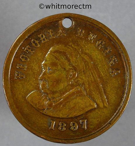 1897 Queen Victoria Diamond Jubilee Medal 26mm WE3950