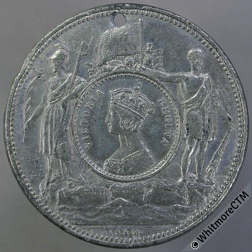 1887 Queen Victoria Golden Jubilee Medal 27mm WE2011 Rare