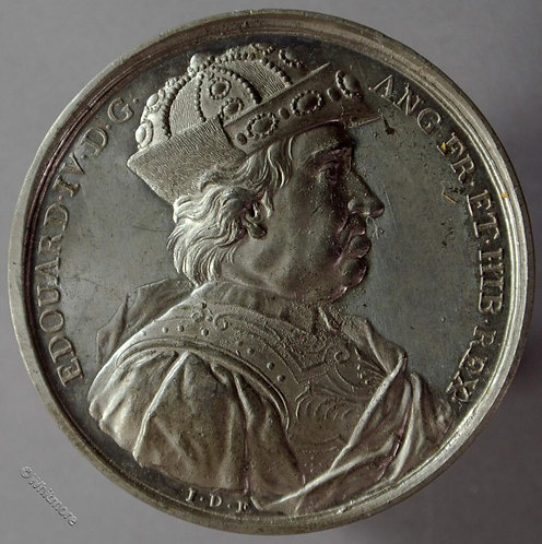 Kings of England Series Medal 41mm Edward IV B1437-16 Thomason after Dassier