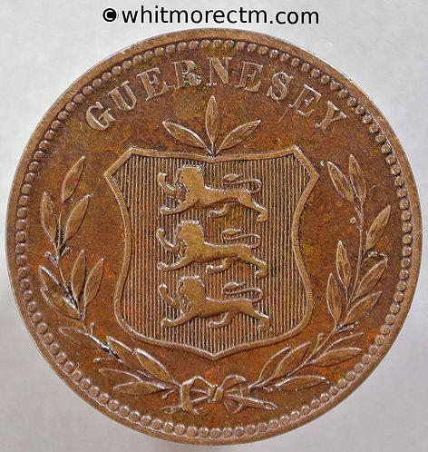 1911 Guernsey 8 Doubles 1911H E75