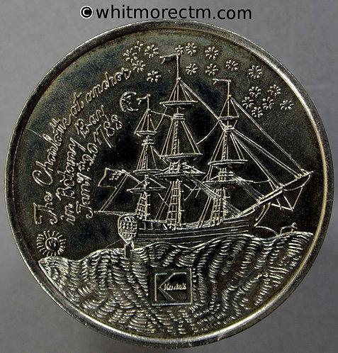 obv 1992 Australia Sydney 150th Anniversary Medal 39mm Kodak Cupro-nickel