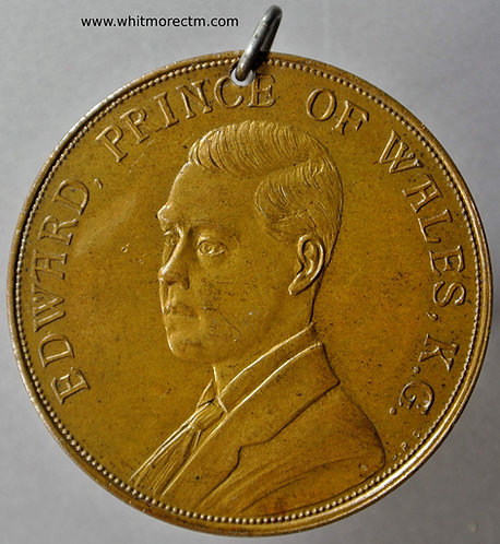 1924 Edward Prince of Wales British Empire Exhibition Medal 38mm B4190
