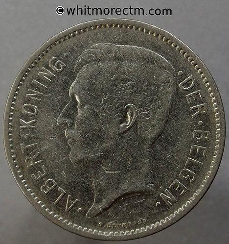 1932 Belgium Y30a 5 Francs obv. Flemish