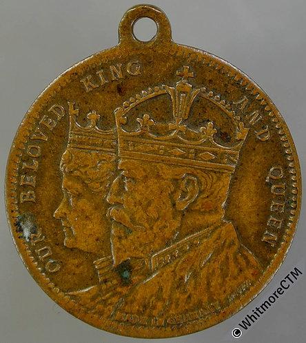 Commemorating the royal visit (Edward VII) Medal 24mm WE4990 Bronze By Lauer