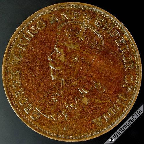 1918 British Honduras 1 Cent Y11