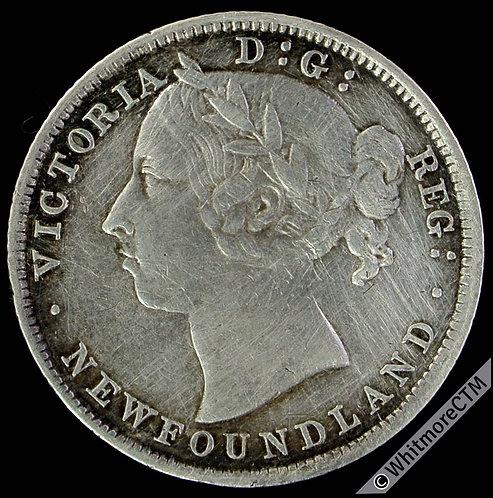 1894 Newfoundland Canada 20 Cent - Y4