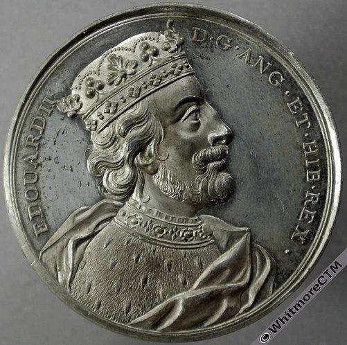 Kings of England Series Medal 41mm Edward II obv B1437-10 Thomason after Dassier