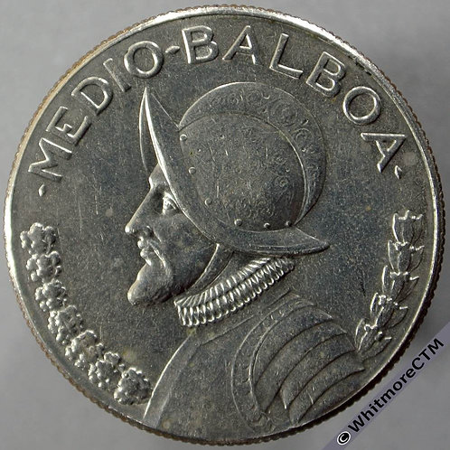 1973 Panama Half Balbao
