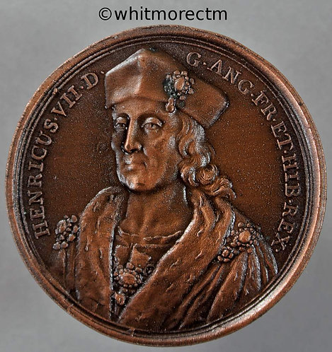 Henry VII Dassier Restrike Medal 41mm