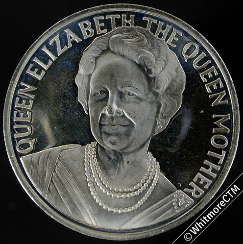 2000 100th Birthday of Queen Mother Medal 38mm Cupro-nickel