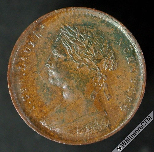 Toy Coin Lauer Victoria Young Head Penny 13mm - Nurnberg. Rogers 421