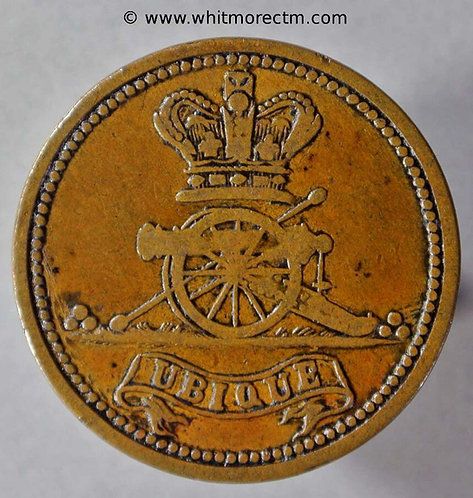 Armed Forces Token Woolwich 26mm 2(d) Royal Artillery Canteen - obv
