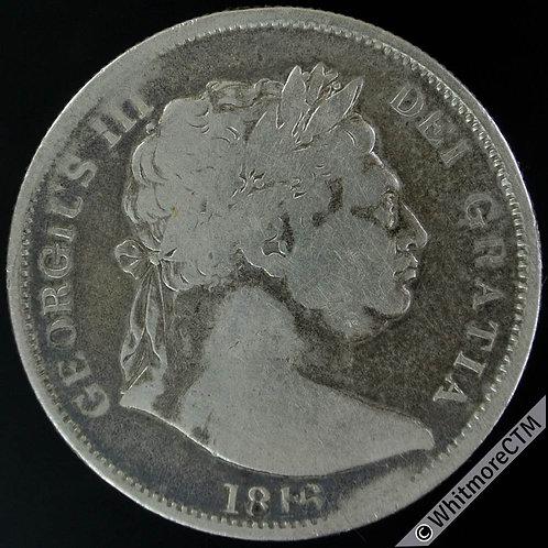 1816 Great Britain Half-Crown George III KM# 667