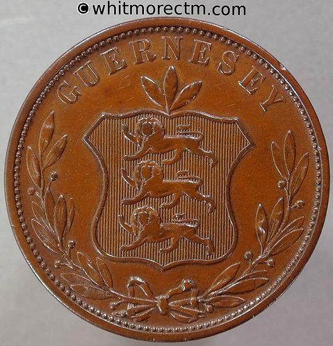 1858 Guernsey 8 Doubles E7a