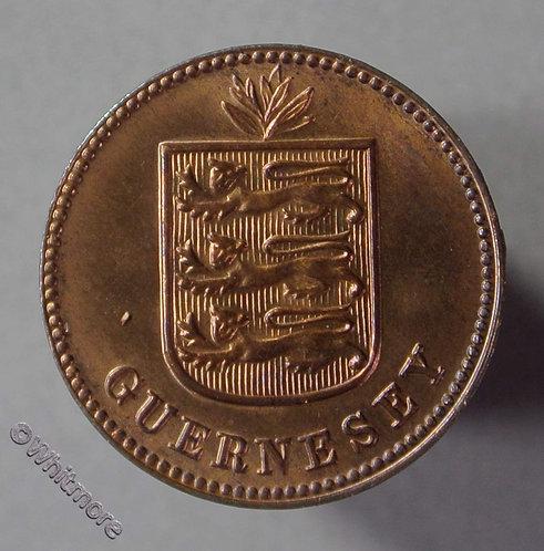 Guernsey 1 Double E90 1933H 80% Luster
