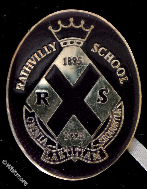 Birmingham Northfield 1995 Centenary of Rathvilly School Medal Oval 34 x 27mm