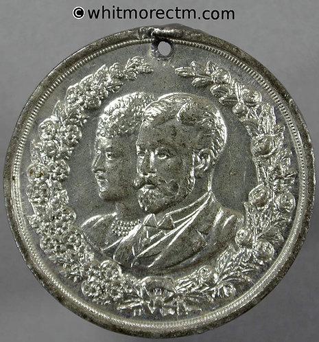 1893 Marriage Duke of York Medal 35mm WE1727 George V