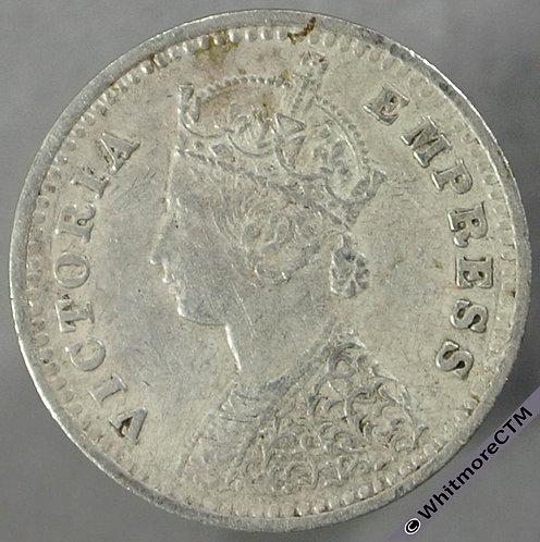 1886B India Two Annas S&W 6.390 obv