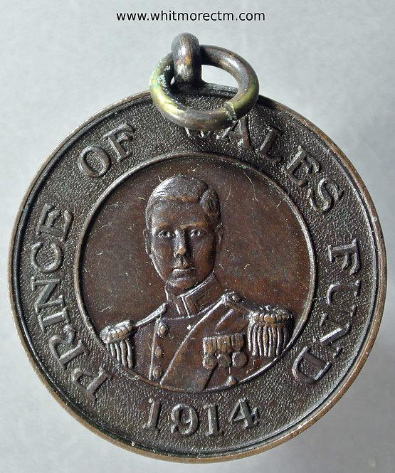 1914 Prince of Wales Edward VIII Medal 31mm WE6100