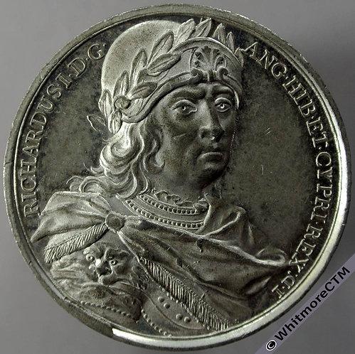 Kings of England Series Medal obv 41mm Richard I B1437-6 Thomason after Dassier