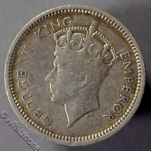 1937 Southern Rhodesia 3 pence  Y12 coin