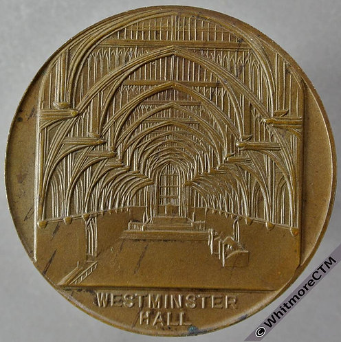 1924 Visit of The American Bar Association Medal obv 39mm Not in Brown - Bronze