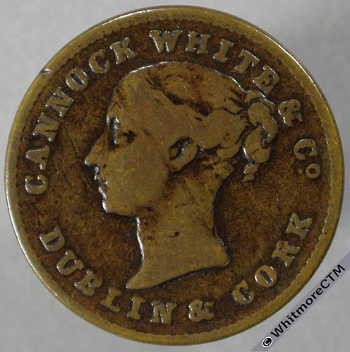 Unofficial Farthing Dublin 5980 Cannock White & Co. Drapers