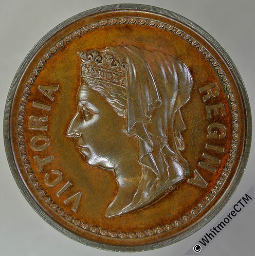 1887 Queen Victoria Golden Jubilee Medal 38mm B3242 By J.Carter. Bronze