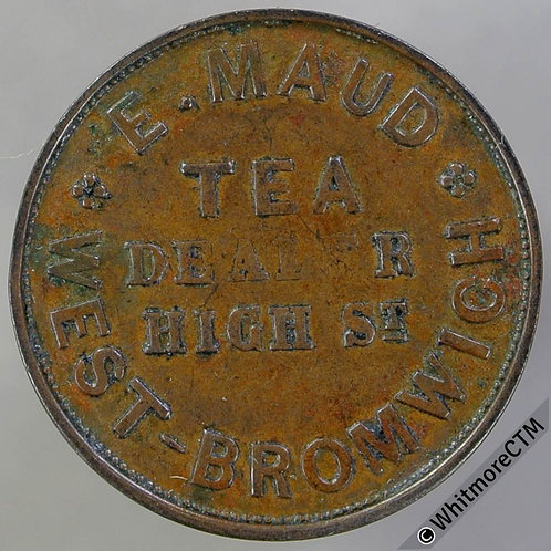 Unofficial Farthing West Bromwich 5040 E.Maud - Tea Dealer. Rare