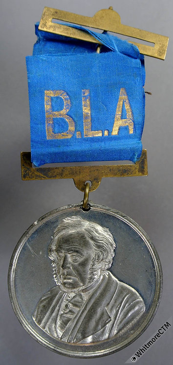Birmingham 1883 John Bright. Liberal Association Medal 45mm B3145 E1695