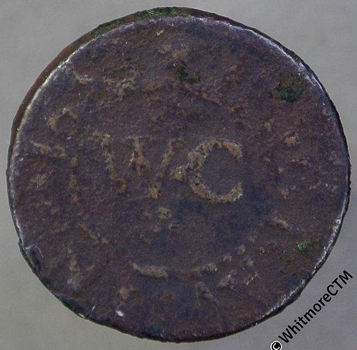 17th Century Token Gravesend 294 1658 William Crouch Bird in Hand