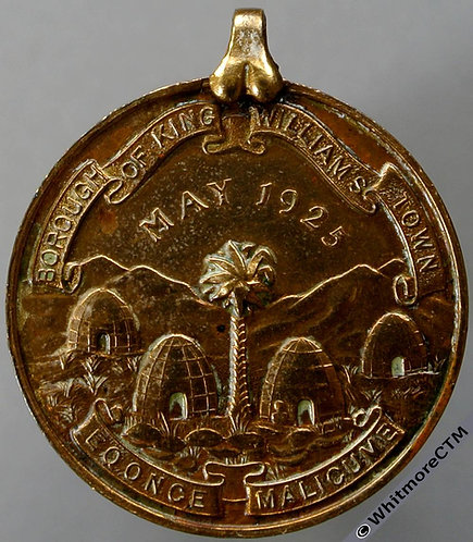 1925 South Africa King William's Town Visit of Prince of Wales Medal 28mm GCM95