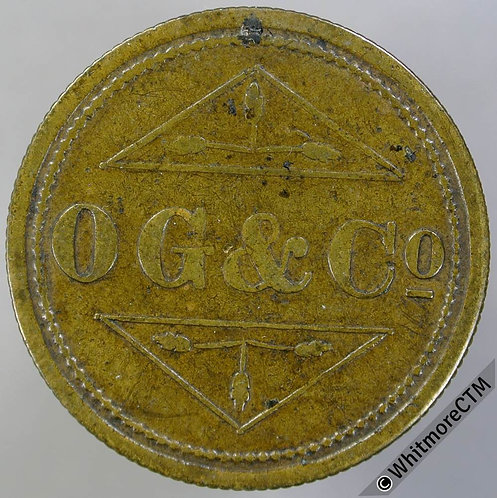 Barber Token O.G. & Co. 6D