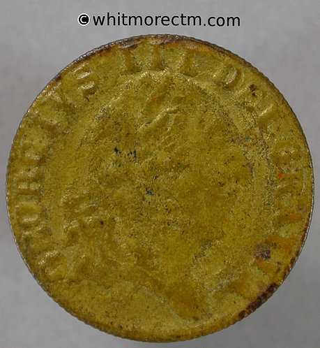 1701 Imitation Half Guinea Birmingham N5670 - obv