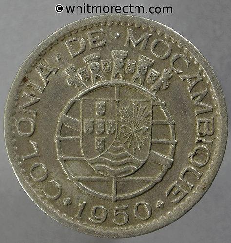 1950 Mozambique 1 Escudo Y17 KM# 77