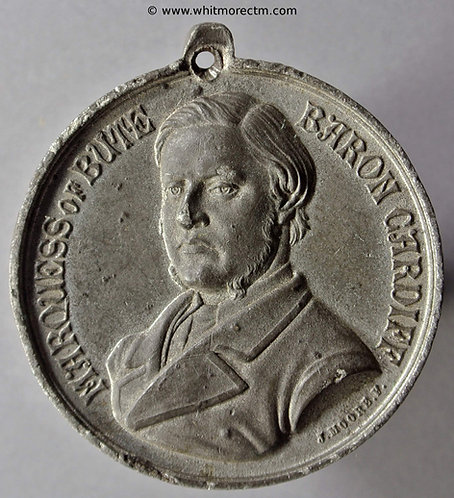 1868 Majority of the Marquis of Bute Medal 31mm B2889