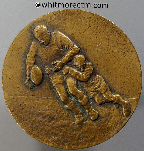 France Rodilhan Rugby Benjamins Medal 50mm By Drago - Bronze
