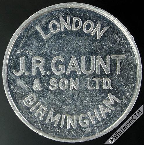 Mints Token Birmingham 27mm J.R.Gaunt & Son Ltd. Aluminium
