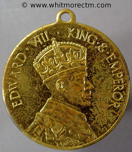 1937 Intended Coronation Edward VIII Medal 32mm WE6780B Rowntrees cocoa