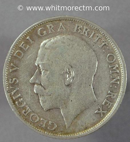 1912 British Shilling George V 3+A D1794