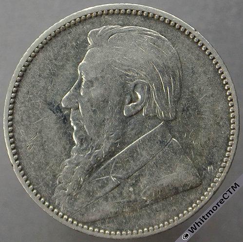 1896 South Africa Kruger Shilling - Y4